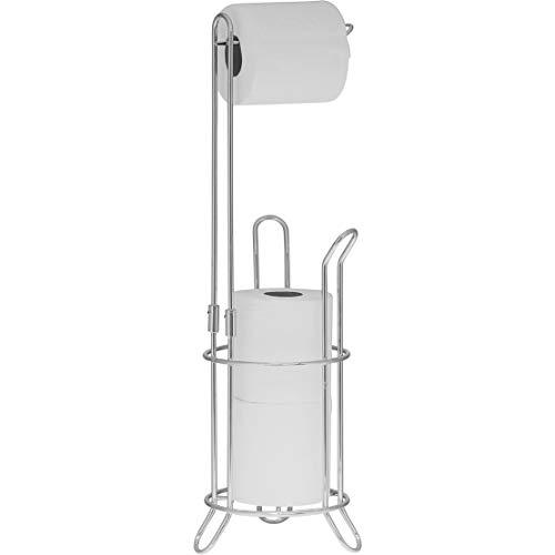 Simple Houseware Bathroom Toilet Tissue Paper Roll Storage Holder Stand
