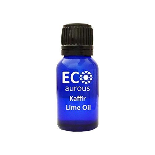 Kaffir Lime Oil (citrus hystrix) 100% Natural, Organic, Vegan & Cruelty Free Kaffir Lime Essential Oil | Pure Kaffir Lime Oil By Eco Aurous
