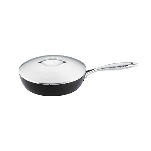 Scanpan Professional Covered Saute Pan 11-Inch by 3.25 QT by Scanpan