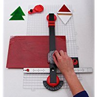 Creator's Beetle Bits Mini Glass Cutting System Portable Work Station For Geometric Shapes COMPLETE WITH 2 Waffle Grids AND Push Button Flying Beetle Glass Cutter INCLUDED - DIY - Made In The USA by Creator's (Image #2)