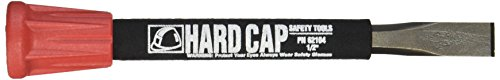 Mayhew Pro 66104 1/2-by-7-Inch Carded Hard Cap Cold Chisel