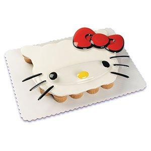Hello Kitty Pop Top Cupcake Cake Topper (Hello Kitty Cupcake Rings)