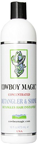 Pet Original Scale - Cowboy Magic Concentrated Detangler and Shine great for Pets and Human Hair! (16 fl oz (473 mL))
