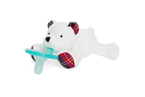 Wubbanub Infant Pacifier - Polar Bear
