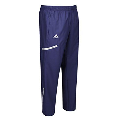adidas Womens Team Sport Woven Pant, Collegiate Purple/White, X-Large