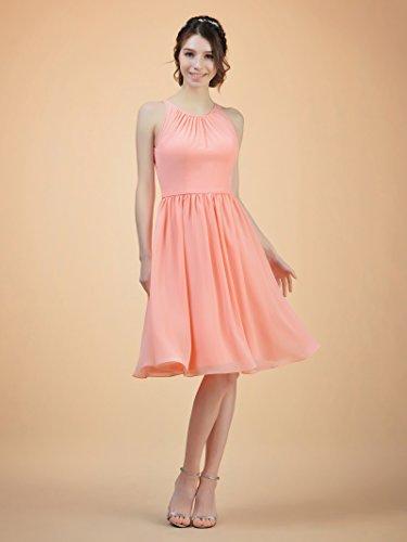 Short Jewel Grape Evening Dress Bridesmaid Alicepub Neck Women's Dress Prom Party FqAaU