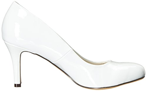 Michael Antonio Womens Finnea-pat Dress Pump White