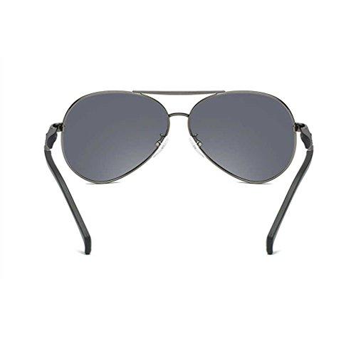 Gafas Gafas UV Solar polarizada la Bloqueador Coolsir Providethebest Vendimia Lente de 2 Las de Lentes de de Sol Conducción Gafas Sol piloto Protección de AZXaq
