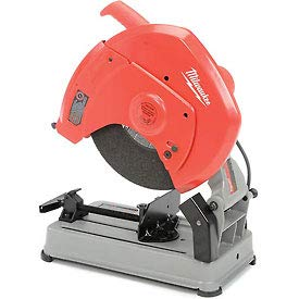 Wheel Cut Off Machine Guard (Factory-Reconditioned Milwaukee 6175-8 15 Amp 14-Inch Abrasive Cut-Off Machine)