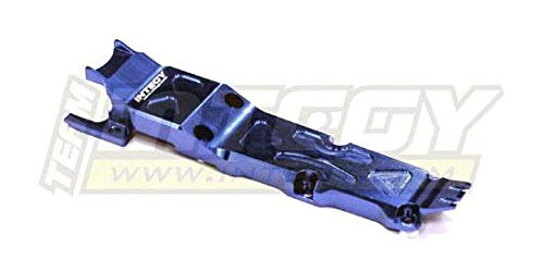 Savage Center Skid Plate - Integy RC Model Hop-ups T3410BLUE Center Skid Plate for 1/16 Traxxas E-Revo VXL, Slash VXL, Summit VXL, Rally