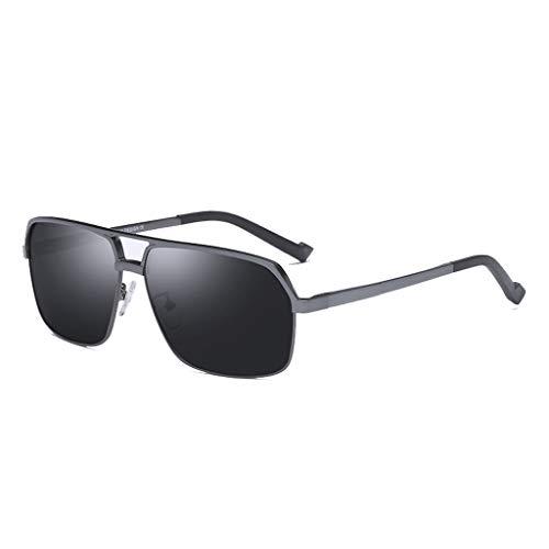 Gold Film y magnesio Frame Gun Film Black Frame YING Sol UV polarizadas Aluminio protección con ZHAO Gafas de de Black x7FYwqHw