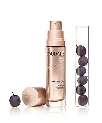 Caudalie Premier Cru La Creme. Ultimate Anti-Aging, Anti-Wrinkle Cream that Corrects Dark Spots and Hydrates Skin. With Hyaluronic Acid, Viniferine, Grape Seed Polyphenols 1.7 Ounce 50 Milliliters