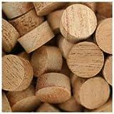 WIDGETCO 1/2'' Mahogany Wood Plugs, Face Grain
