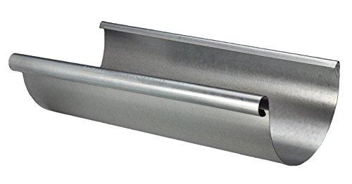 Premier Steel Half Round Gutter (6