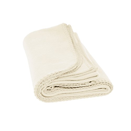 Fleece Throw Blanket - Lightweight Soft Brushed Polar Fleece