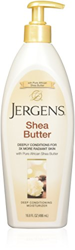 Shea Butter Deep Conditioning Moisturizer by Jergens, 16.8 Ounce (Jergens Shea Butter Lotion)