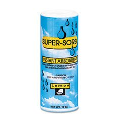 (Reg Supersorb Liquid Spills Absorbent, 12-oz. Shaker Can)