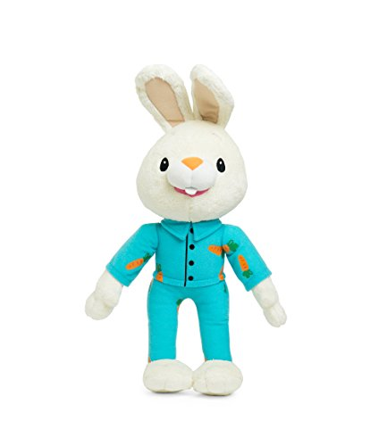 BUNNY OF THE YEAR - Baby First TV - Bedtime Harry the Bunny Soft Plush Toy - Baby Shower Gifts - Lovey Security Blanket - Toddler Toys - Baby Gift - Baby Toys for Boys - PERFECT BIRTHDAY (Baby First Tv Characters)