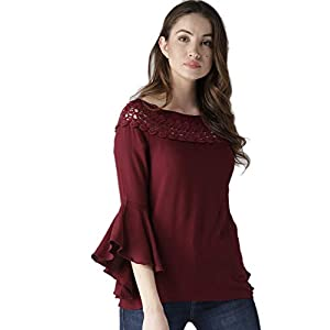 Style Quotient Women's Plain Regular fit Top