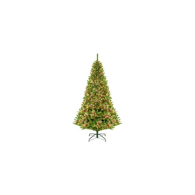 9 Green River Spruce Pre Lit Artificial Christmas Tree   Clear Lights