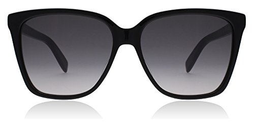 Saint Laurent SL 175 001 Black SL 175 Square Sunglasses Lens Category 3 Size - Womens Saint Sunglasses Laurent