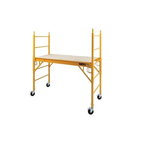 Metaltech I-CISC Multipurpose 6'. Baker-Style Scaffold-1, 000-Lb. Capacity, Steel, Model#, 1 from Metaltech
