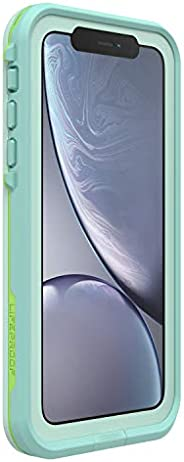 Lifeproof FRĒ SERIES Waterproof Case for iPhone XR - Retail Packaging - TIKI (FAIR AQUA/BLUE TINT/LIME)