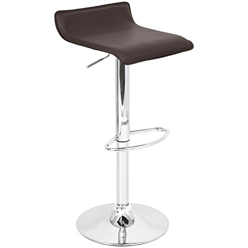 LumiSource Ale Bar Stool, Brown by LumiSource