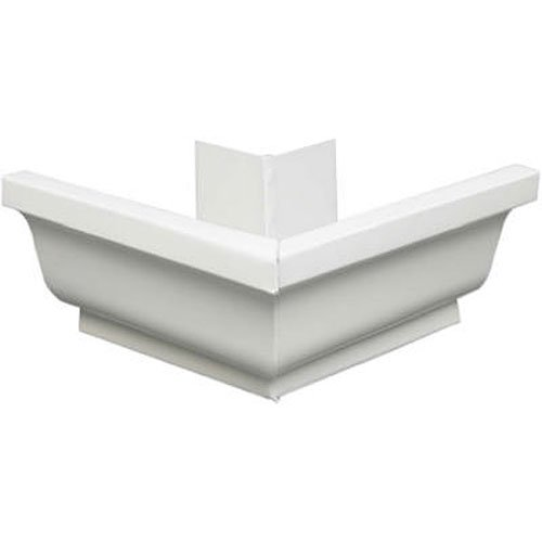Amerimax Home Products 27002 Aluminum Outside Mitre, 5-Inches, - Elbow Outside