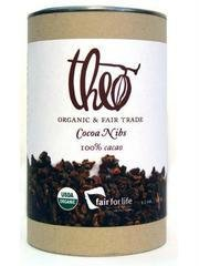 Theo Chocolate - organiques rôties fèves de cacao - 9 oz