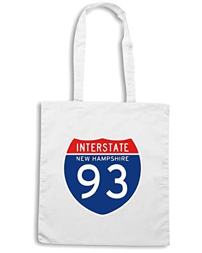 Shirt 93 INTERSTATE TSTEM0044 NH Bianca Borsa Shopper Speed qdBCq