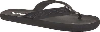 Reef Seaside Black Juniors Sandal (5)