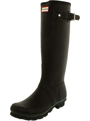 Hunter Women's Original Tall Wellington Boots, Black - 4 F(M) UK