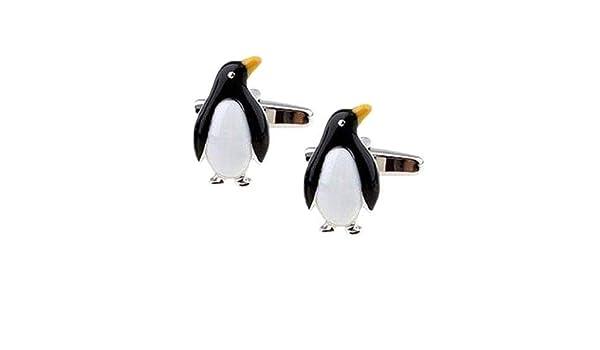 The Cufflink Shop Amarillo Mancuernas del pingüino de Pico - Caja ...