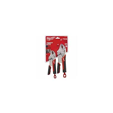 Milwaukee Electric Tools Torque Lock Curved Jaw Locking Pliers Sets 495-48-22-3402