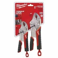 Milwaukee Electric Tools Torque Lock Curved Jaw Locking Pliers Sets 495-48-22-3402 ()