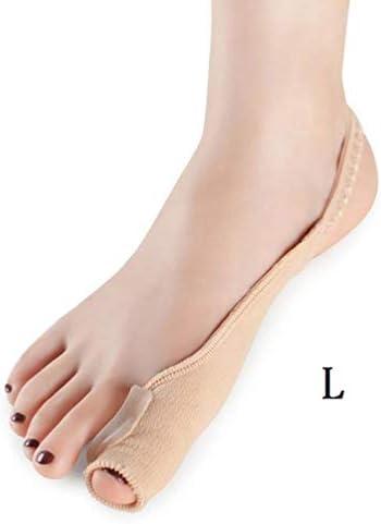 Tatapai Orthopädische Einlegesohlen 2 Stück Füße Fingerkorrektor Einlegesohlen Stoff Silikonschlauch Zehen Finger Separator Divider Protector20Cm-Gelb