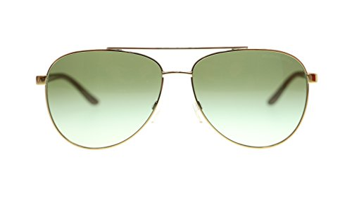 Michael Kors Womens Sunglasses MK5007 10432L Gold Wood Pilot 59mm - Sunglasses Pilot Celine Aviator