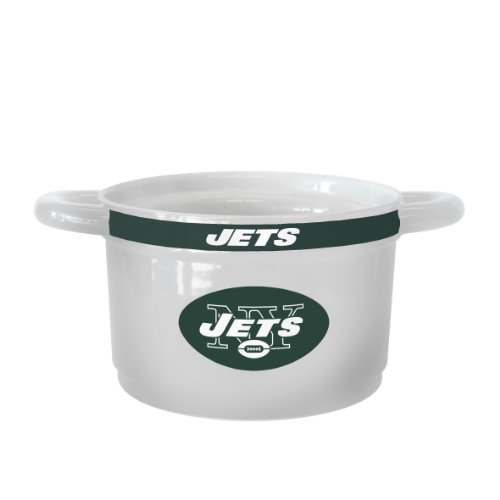 - NFL New York Jets Sculpted Gametime Bowl, 23-ounce