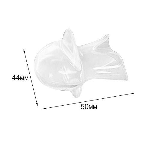 BFHCVDF Anti Snoring Sleep Aid Device Stop Snoring Device Snore Stopper Tongue Guard Transparent