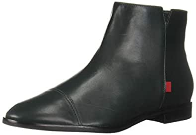 MARC JOSEPH NEW YORK Womens Leather Made in Brazil Soho Bootie Ankle Boot, Fast Green Nappa, 6.5 B(M) US