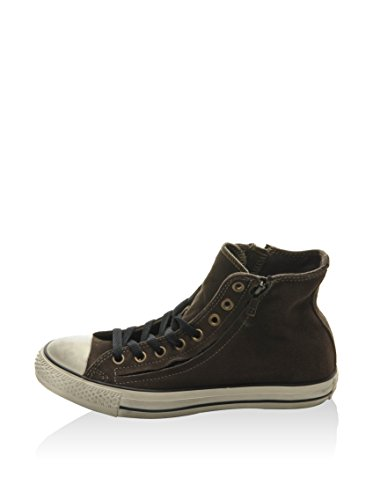 ef5e4de12784 Converse Unisex Adults  All Star Hi Double Zip Suede Low-Top Sneakers   Amazon.co.uk  Shoes   Bags