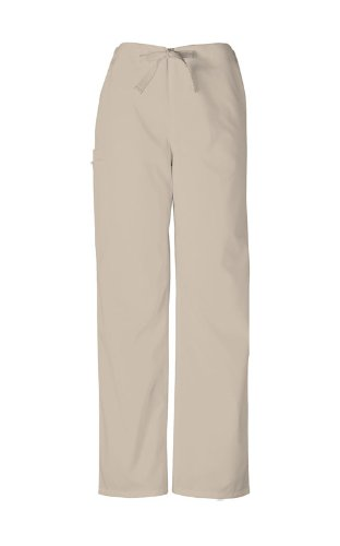 Scrubs - Authentic Cherokee Workwear Unisex Scrub Pant (Khaki, M)