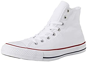 Mens Converse Chuck Taylor All Star High Top Sneakers (Optical White, 12 D(M) US)