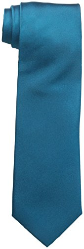 Countess Mara Men's For Every Occasion 100% Silk Tie, Teal, One Size (Countess Mara Woven Tie)