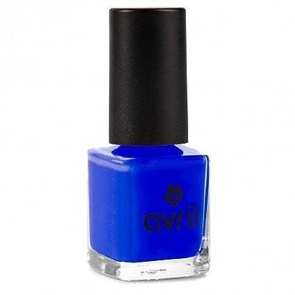 Avril Esmalte De Uñas Sin Productos Químicos Azul