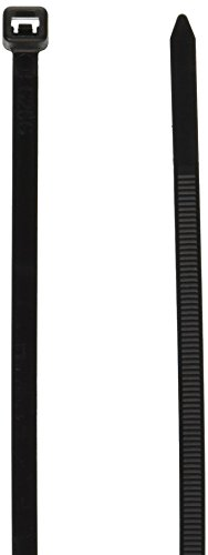 ATD Tools 20400 Black 400-Piece UV Stabilized Nylon Cable Tie Assortment by ATD Tools