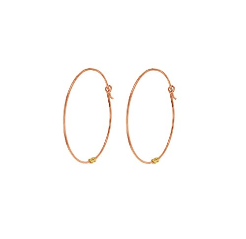 Laura Lee Jewellery femme  9 carats (375/1000)  Or rose|#Gold      FINEEARRING