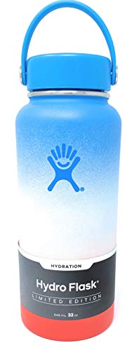 Hydro Flask, Coconut Rainbow Shave Ice Flask, 32 oz