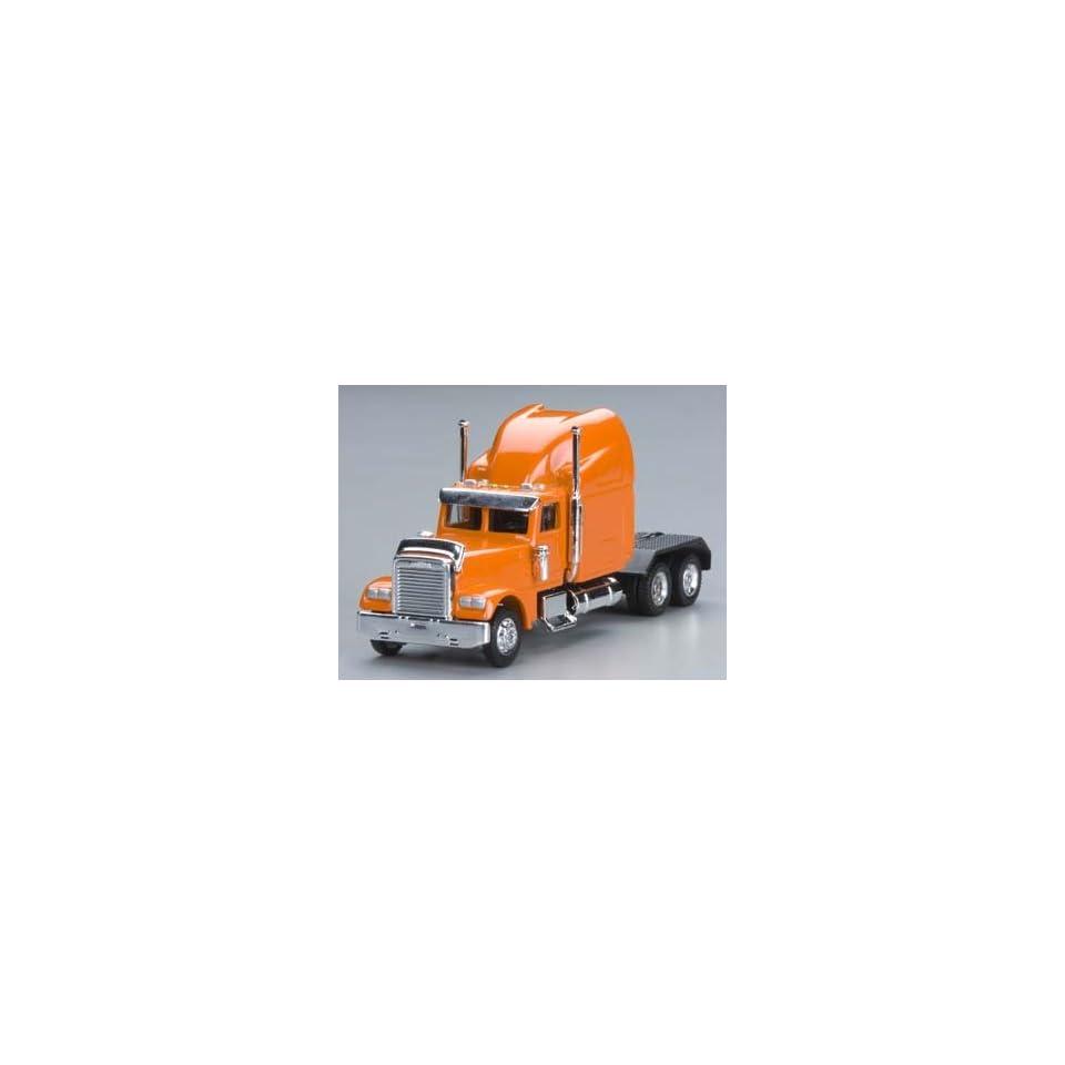 Model Power   1/87 Freightliner Semi Truck Cab Orange HO